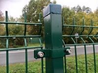 Sloupek ZN/PVC 60x40x1,5 x 160 cm