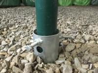 Zemní vrut malý 550