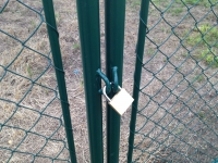 Brána oko 100x360 cm HOBBY
