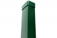 Sloupek ZN/PVC 60x40x160 zelený