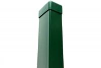 Sloupek ZN/PVC 60x40x220 zelený