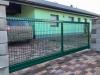 samonosná brána s plotovým dílcem profi