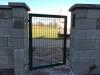 branka s průmyslovým panel RAL 6005 PROFI VÝŠKA 80 cm