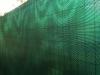 tmavě zelená zástěna na plot