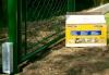koncový držák podhrabové desky u branky klasik, která je ukotvena pomocí fast2k v Pardubicích