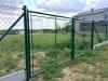 dvoukřídlá brána plot na klíč sezemice