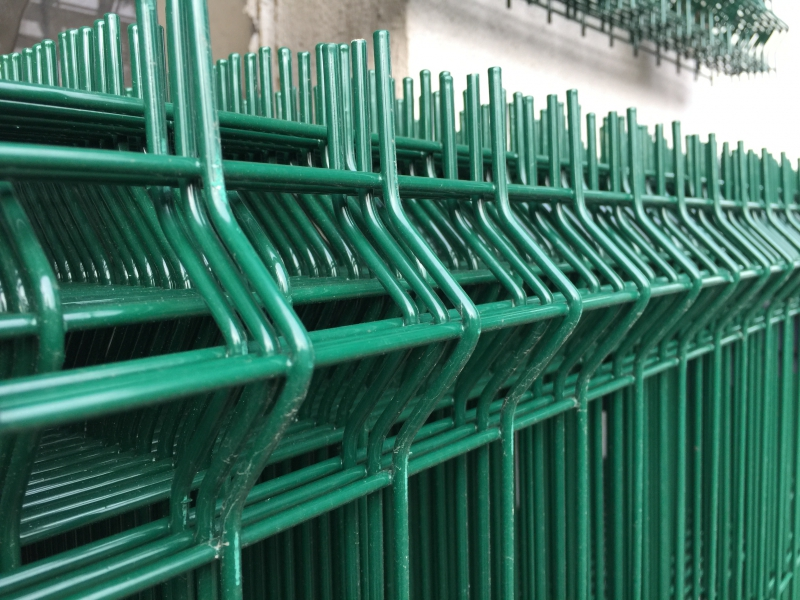 Plotový panel zeleny