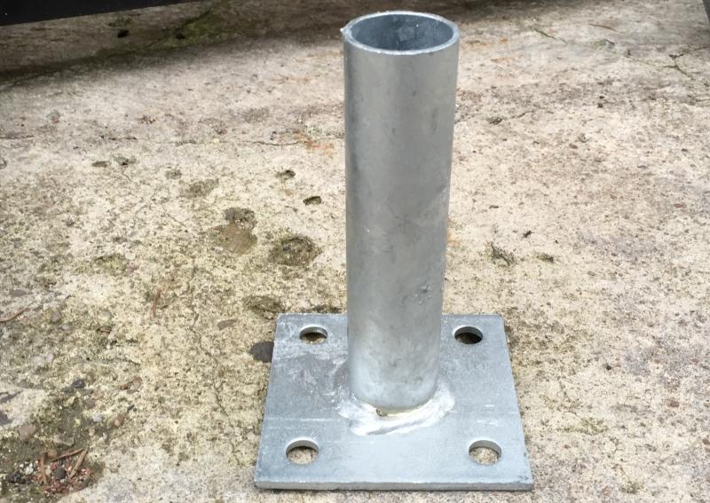 patka na beton průměr 48 mm