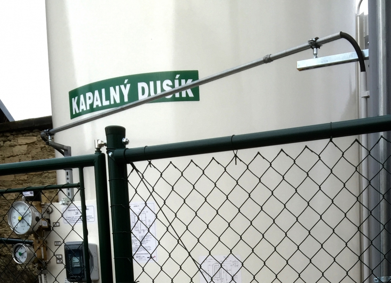 rozpěra na plot