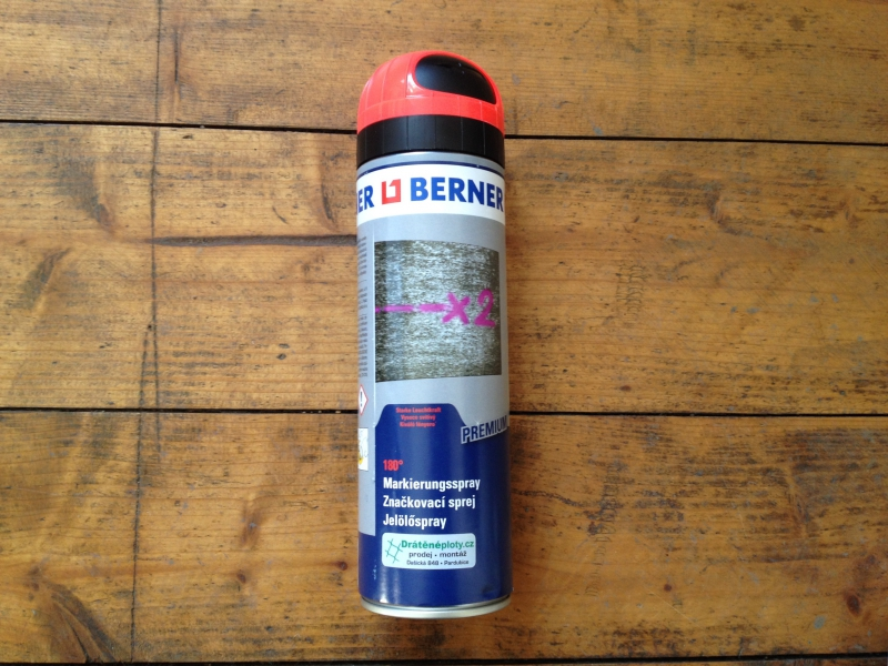 značkovací spray