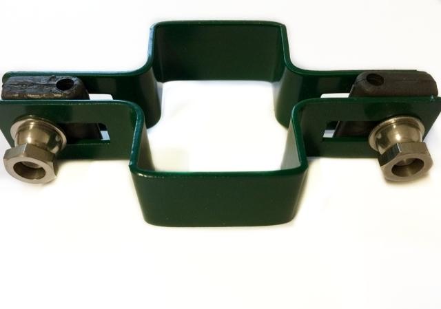 Objímka panelu 3d průběžná zelená