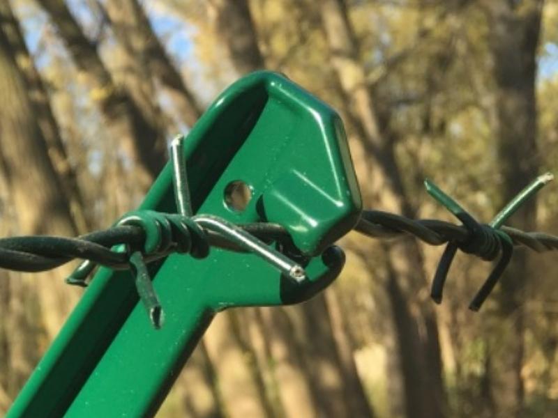 ostnatý drát ZN-PVC poplastovaný