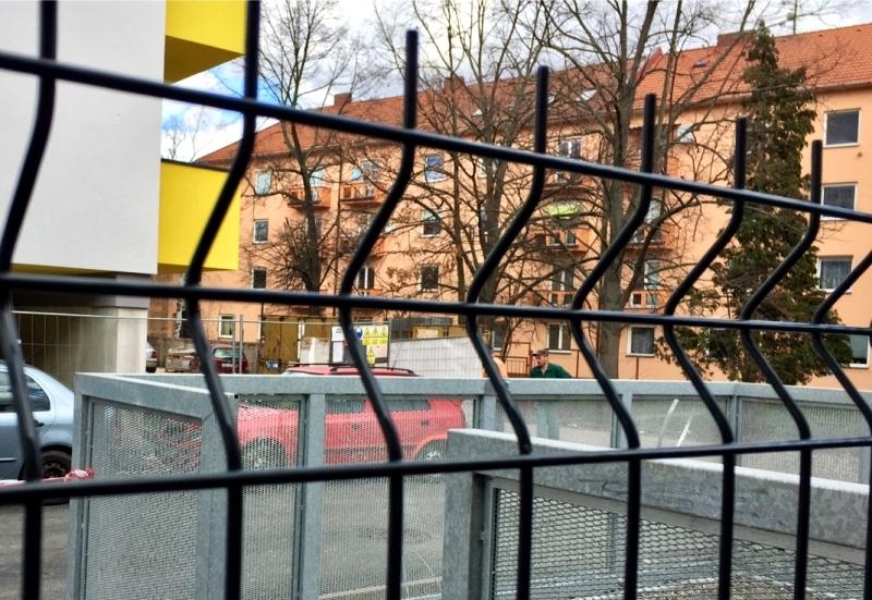 Panelový plot antracit 153 cm